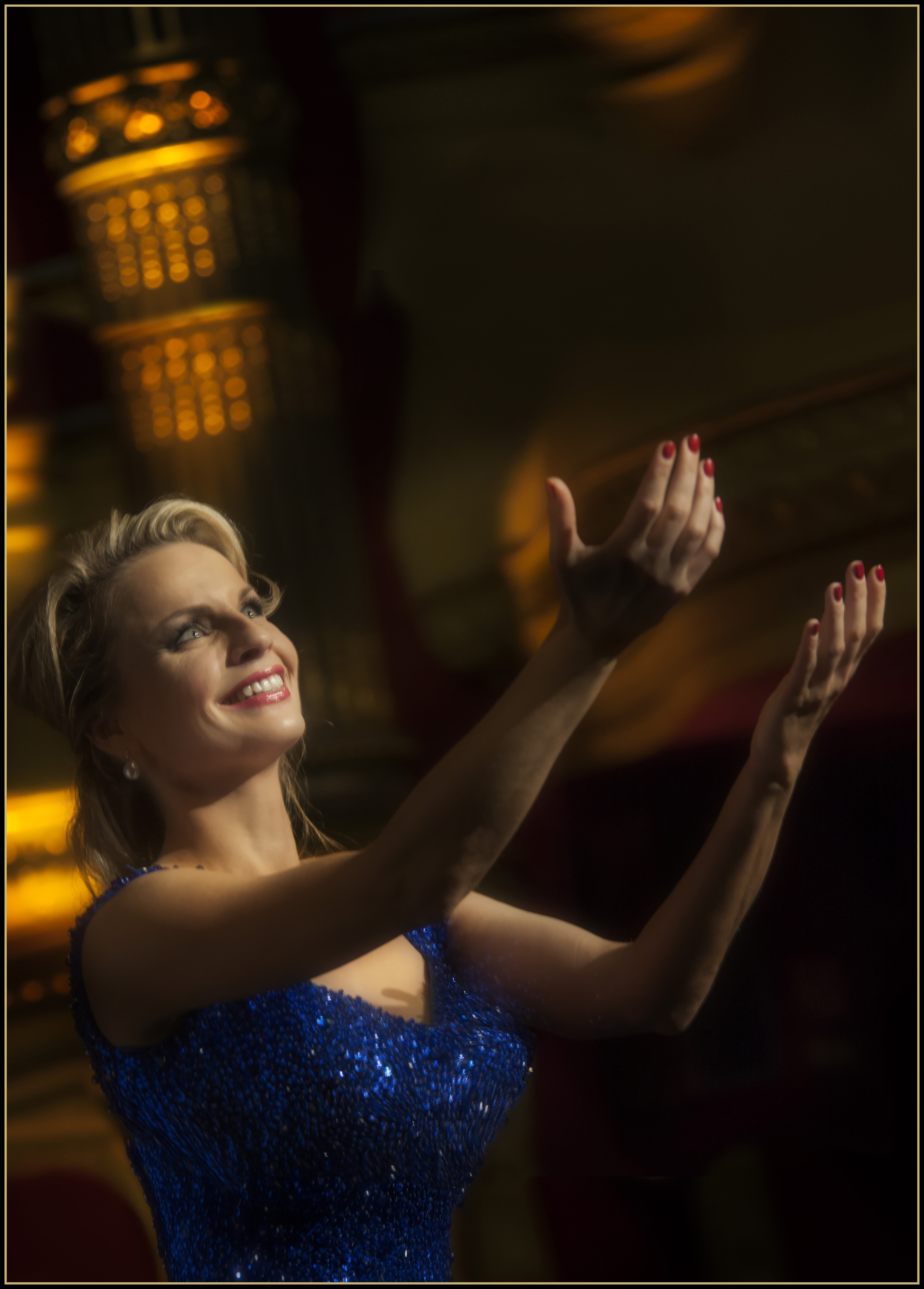 Glamourshoot Janine Kirtzen; sopraan